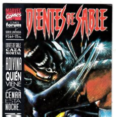 Cómics: DIENTES DE SABLE - CAZA MORTAL - Nº 3 DE 4. Lote 113980319