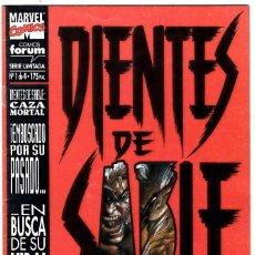 Cómics: DIENTES DE SABLE - CAZA MORTAL - Nº 1 DE 4. Lote 113980379