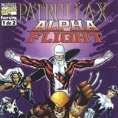 Cómics: PATRULLA X & ALPHA FLIGHT. SERIE COMPLETA DE X MEN: 2 NUMEROS. FORUM PLANETA.. Lote 113989759