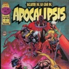 Cómics: RELATOS ERA APOCALIPSIS. FORUM, ESPECIAL 48 PAGINAS.PAPEL PRESTIGIO. Lote 145155250