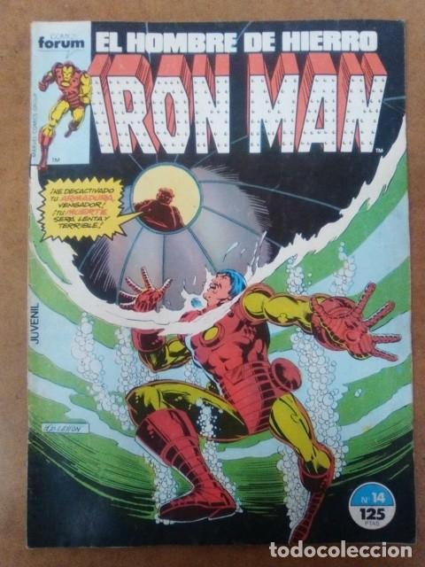 IRON MAN VOL. 1 Nº 14 - FORUM (Tebeos y Comics - Forum - Iron Man)