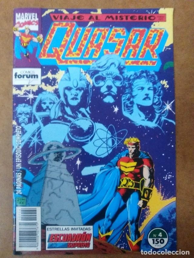 QUASAR Nº 4 - FORUM - IMPECABLE (Tebeos y Comics - Forum - Otros Forum)