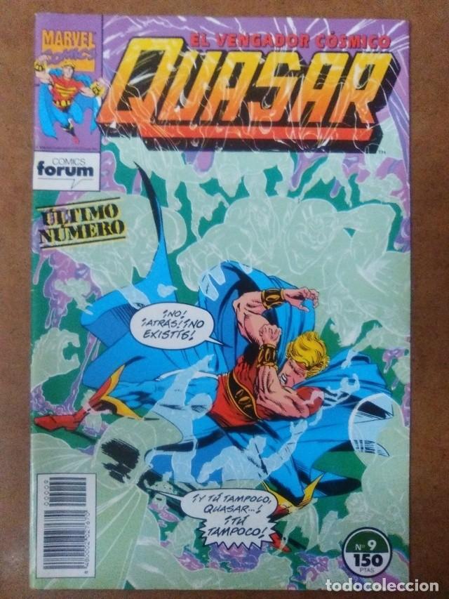 QUASAR Nº 9 - FORUM - MUY BUEN ESTADO (Tebeos y Comics - Forum - Otros Forum)