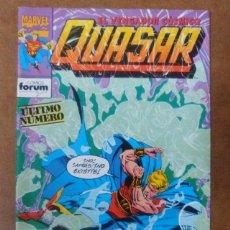 Cómics: QUASAR Nº 9 - FORUM - MUY BUEN ESTADO. Lote 114037751