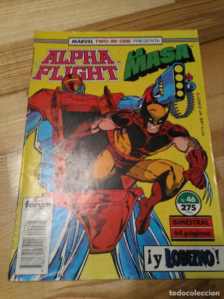 COMIC ALPHA FLIGHT + HULK LA MASA Nº 46 FORUM PLANETA (Tebeos y Comics - Forum - Alpha Flight)