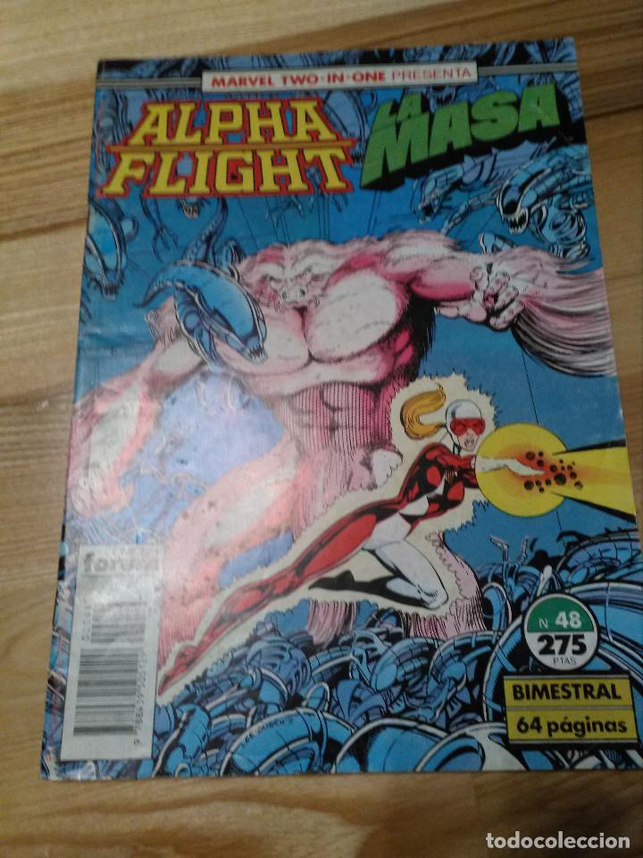 COMIC ALPHA FLIGHT + HULK LA MASA Nº 48 FORUM PLANETA (Tebeos y Comics - Forum - Alpha Flight)