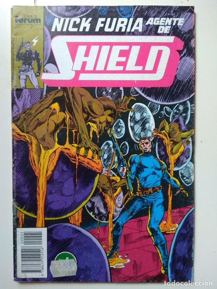 NICK FURIA AGENTE DE SHIELD, Nº5, COMICS FORUM (Tebeos y Comics - Forum - Furia)