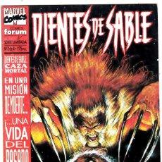 Comics: DIENTES DE SABLE - CAZA MORTAL - Nº 2 DE 4. Lote 114112483