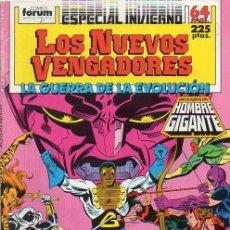 Cómics: LOS NUEVOS VENGADORES ESPECIAL INVIERNO 1988 - FORUM. LA GUERRA DE LA EVOLUCION.. Lote 114139911