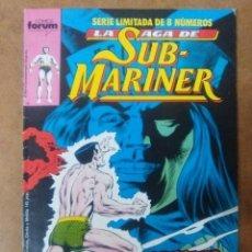 Cómics: LA SAGA DE SUB MARINER Nº 4 - FORUM. Lote 114178003