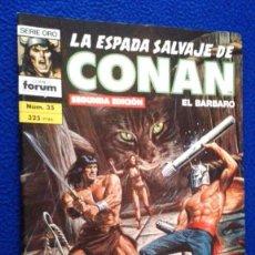 Cómics: LA ESPADA SALVAJE DE CONAN Nº 35. Lote 114196839
