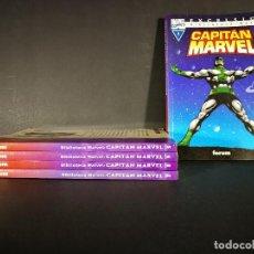 Cómics: ORIGINAL BIBLIOTECA MARVEL CAPITAN MARVEL LOTE DEL 1 AL 5, MARVEL, FORUM. Lote 114253483