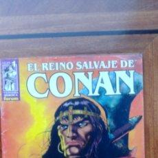 Cómics: CONAN EL REINO SALVAJE DE CONAN N 1 FORUM. Lote 114340056
