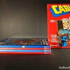 Cómics: ORIGINAL COLECCIÓN COMPLETA CABLE 5 NÚMEROS, RETAPADOS FORUM. Lote 114438567
