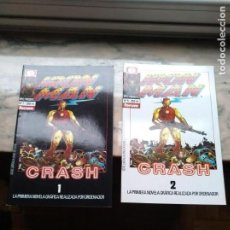 Cómics: COLECCION COMPLETA - 2 EJEMPLARES - IRON MAN - CRASH. Lote 114439575
