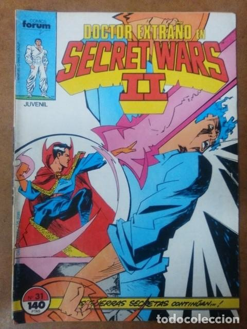 SECRET WARS II Nº 31 FORUM (Tebeos y Comics - Forum - Otros Forum)
