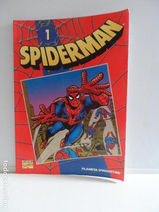 SPIDERMAN SERIE ROJA MARVEL. DE PLANETA DE AGOSTINI 2002. Nº1 ,2,3,4,5 Y 6 (Tebeos y Comics - Forum - Spiderman)