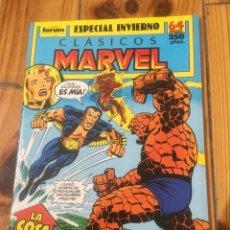 Cómics: CLÁSICOS MARVEL ESPECIAL INVIERNO 1989 - FANTASTIC FOUR . Lote 114509495