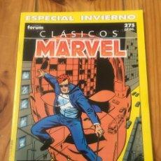 Cómics: CLÁSICOS MARVEL ESPECIAL INVIERNO 1990 - DAREDEVIL - ROY THOMAS & BARRY SMITH - IMPECABLE. Lote 114511243