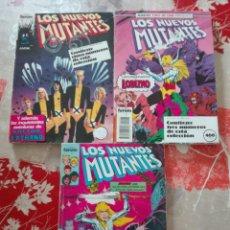 Cómics: LOTE TRES RETAPADOS LOS NUEVOS MUTANTES V1. FORUM. 13 COMICS. Lote 114530699