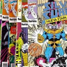 Cómics: SILVER SURFER VOL. 2 DE STARLIN. COLECCIÓN COMPLETA 21 Nº'S. FORUM, 1992-93.. Lote 114550219