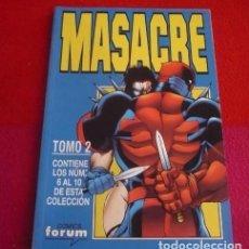 Cómics: MASACRE RETAPADO Nº 2. Lote 211838203