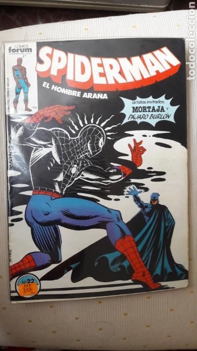 SPIDERMAN FORUM 22 (Tebeos y Comics - Forum - Spiderman)