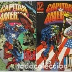 Cómics: CAPITAN AMERICA EL FIN DE IMA COMPLETA-2 TOMOS. Lote 114850323