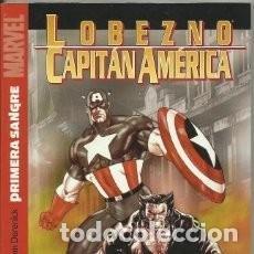 Cómics: CAPITAN AMERICA & LOBEZNO TOMO PRIMERA SANGRE. Lote 114850695