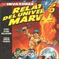 Cómics: TOMO LOS INVASORES RELATOS DEL UNIVERSO MARVEL. Lote 114850739