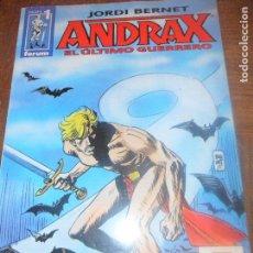 Cómics: ANDRAX, EL ULTIMO GUERRERO Nº 1 - JORDI BERNET - FORUM . Lote 115011415