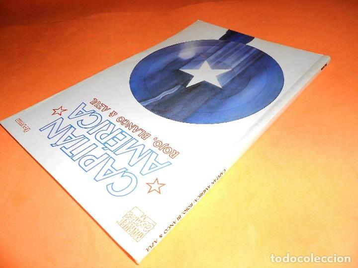 Cómics: Capitán América: Rojo, blanco y azul. Varios autores. Buen estado. - Foto 4 - 85730024