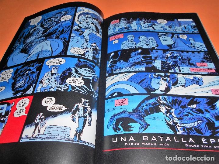 Cómics: Capitán América: Rojo, blanco y azul. Varios autores. Buen estado. - Foto 6 - 85730024