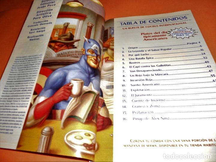 Cómics: Capitán América: Rojo, blanco y azul. Varios autores. Buen estado. - Foto 7 - 85730024