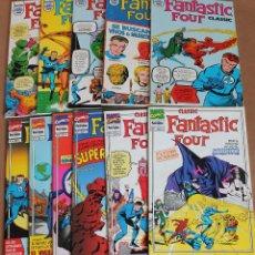 Cómics: CLASSIC FANTASTIC FOUR 1 2 3 4 5 6 7 8 9 10 11 COMPLETA - ED. PLANETA 1993 - MUY BUEN ESTADO. Lote 115051091