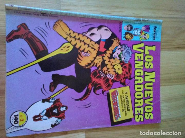 COMIC FORUM PLANETA MARVEL LOS NUEVOS VENGADORES Nº 2 (Tebeos y Comics - Forum - Vengadores)