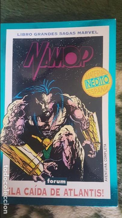 GRANDES SAGAS Nª15: NAMOR - LA CAIDA DE ATLANTIS - FORUM (Tebeos y Comics - Forum - Vengadores)