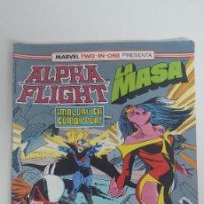 Cómics: ALPHA FLIGHT LA MASA BIMESTRAL 61 MARVEL TWO IN ONE ULTIMO NUMERO. Lote 115172023