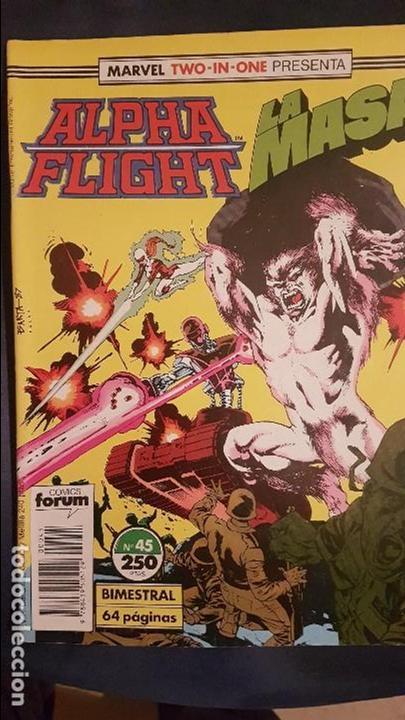 ALPHA FLIGHT VOL.1 Nº45 - FORUM (Tebeos y Comics - Forum - Alpha Flight)