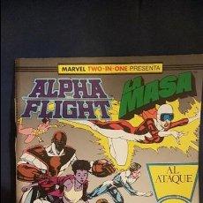 Cómics: ALPHA FLIGHT VOL.1 Nº42 - (RETAPADO) FORUM. Lote 115175647
