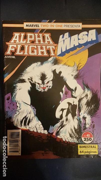 ALPHA FLIGHT VOL.1 Nº41 - FORUM (Tebeos y Comics - Forum - Alpha Flight)