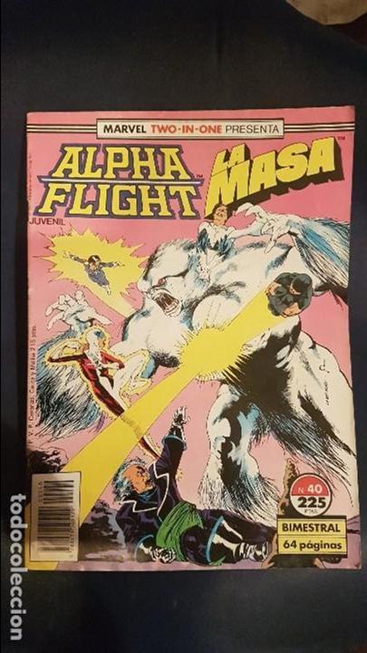 ALPHA FLIGHT VOL.1 Nº40 - FORUM (Tebeos y Comics - Forum - Alpha Flight)