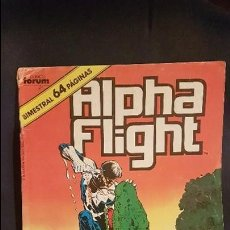 Cómics - ALPHA FLIGHT VOL.1 Nº38 - FORUM - 115176431
