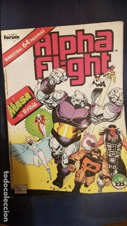 ALPHA FLIGHT VOL.1 Nº35 - FORUM (Tebeos y Comics - Forum - Alpha Flight)