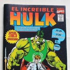Cómics: EL INCREIBLE HULK- ESPECIAL 30 ANIVERSARIO -COMICS FORUM-1995- NM. Lote 115187563