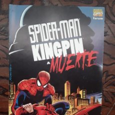 Cómics: SPIDERMAN-KINGPIN A MUERTE-STAN LEE-JOHN ROMITA-FORUM-1998. Lote 115246043