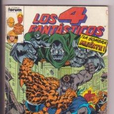 Cómics: RETAPADO LOS 4 FANTASTICOS DEL 86 AL 90 FORUM . Lote 115285739