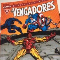 Cómics: BIBLIOTECA MARVEL LOS VENGADORES 17. Lote 115311162