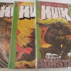 Cómics: HULK COLECCION COMPLETA 13 NUMEROS COMICS FORUM EL ESTADO ES IMPECABLE . Lote 115320243