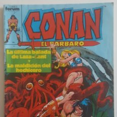Cómics: CONAN #93 (FORUM, 1986). Lote 115342363